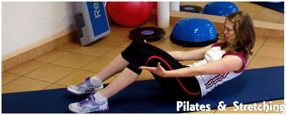 Pilates et stretching
